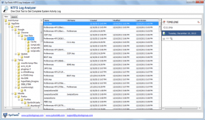 Analyze NTFS Log File