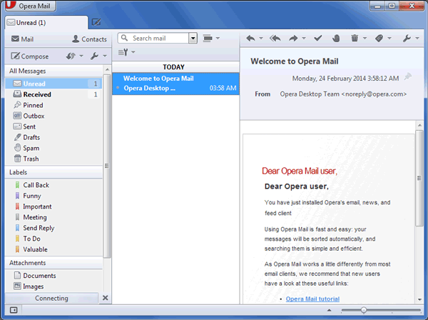 Opera MBS Mailbox Analysis