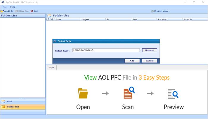 AOL PFC Viewer