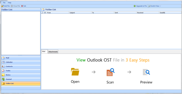 exchange ost file viewer
