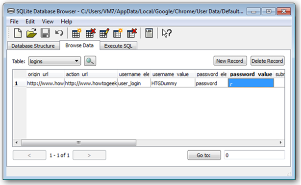retrieve saved password in google chrome