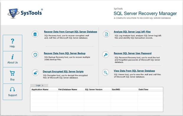 recover sql server master database