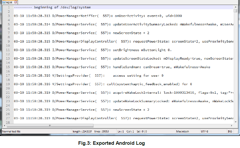 analysis android mobile forensics