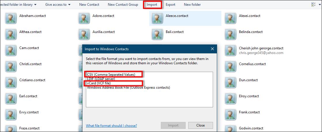 export whatsapp contacts list