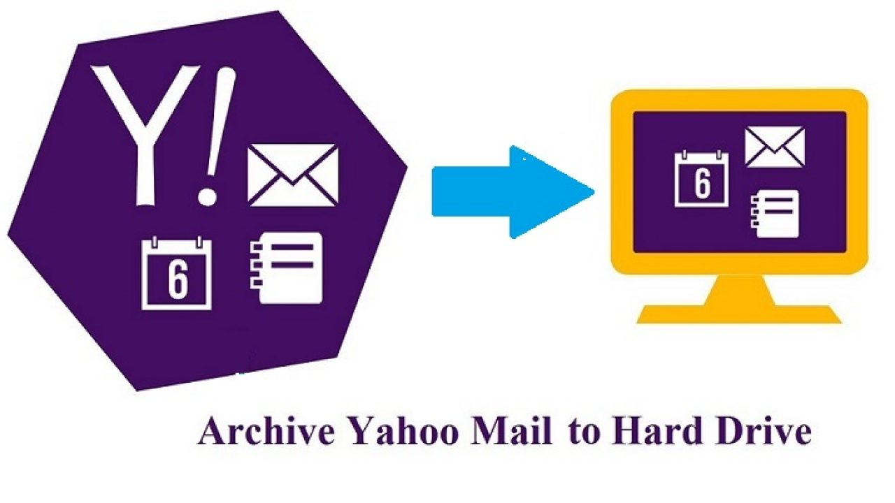 How to Archive Yahoo Mail Folders Locally to Hard / Flash drive?