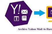 Archive Yahoo Mail folders to Hard Drive