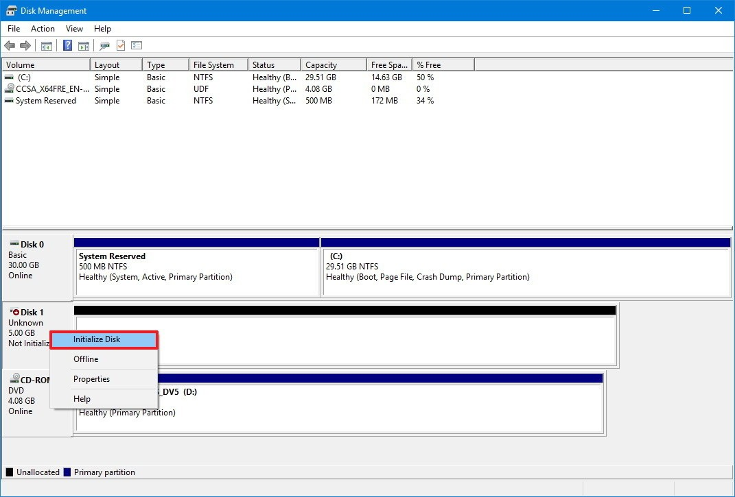 Hard Drive Is Not Showing Up in Disk Management?- 4 Free