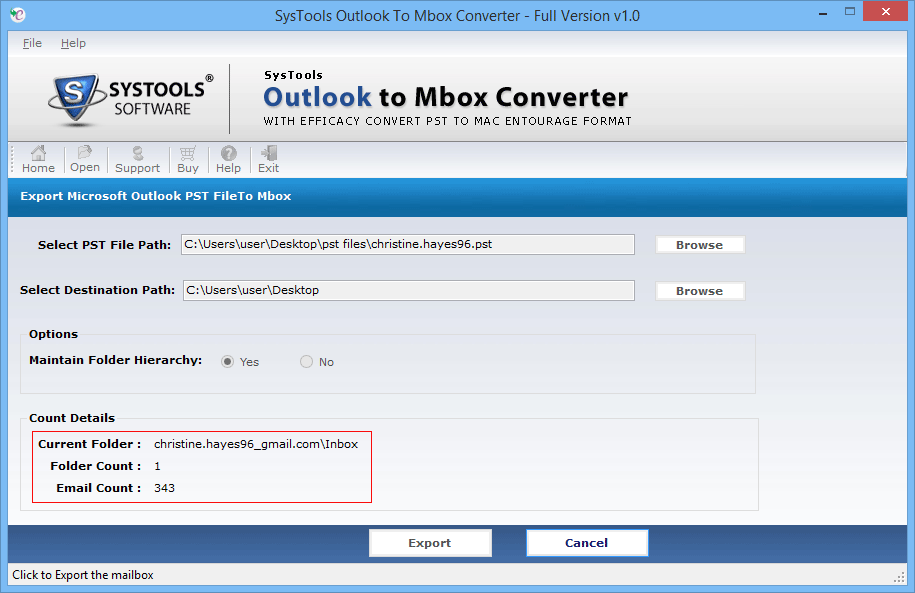 outlook to apple mail