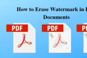 How to Erase Watermark in PDF files