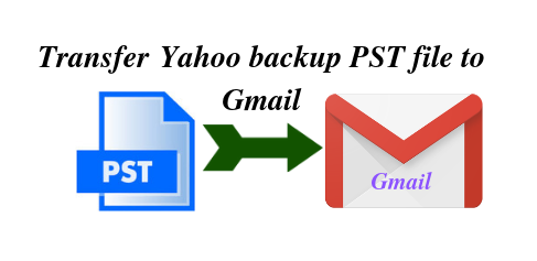 Transfer Yahoo PST file to Gmail