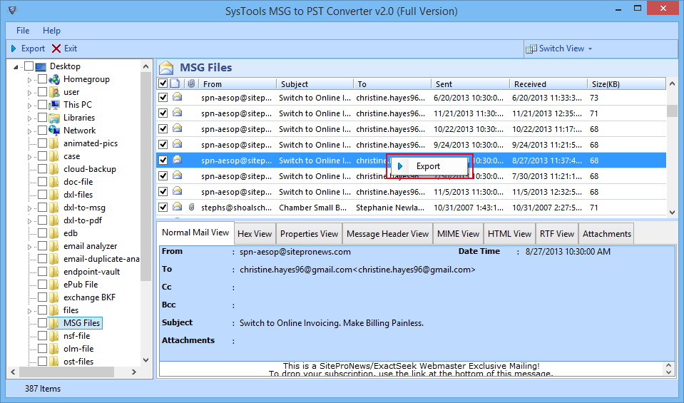 How to Import MSG Files into Outlook – Bulk Import MSG