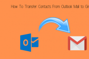 Transfer Contact From Outlook to Gmail