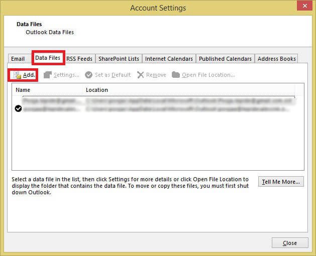 Manual Steps to Split Outlook PST Files into Smaller Parts