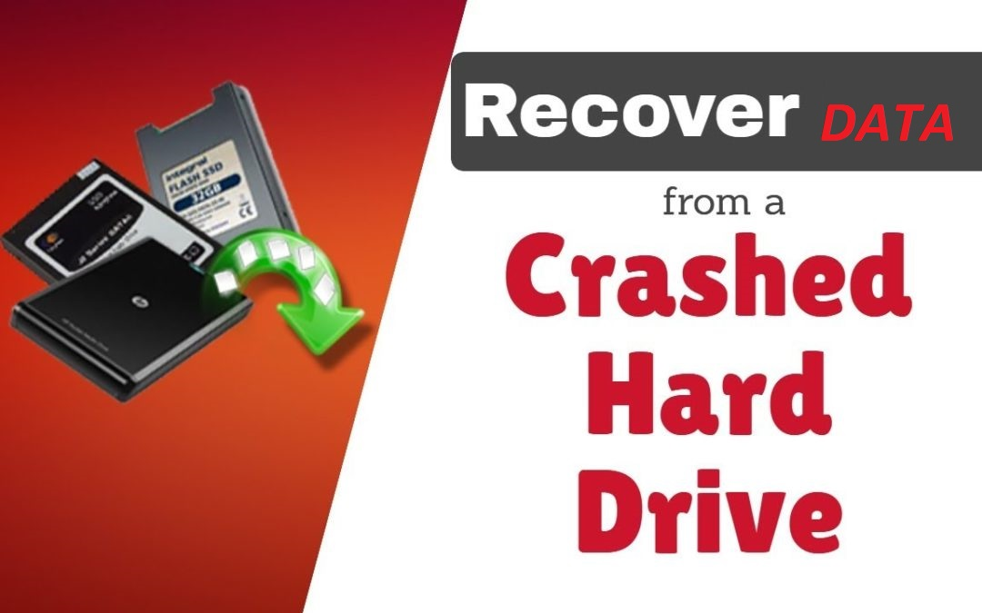 recover files from crashed internal hard drive