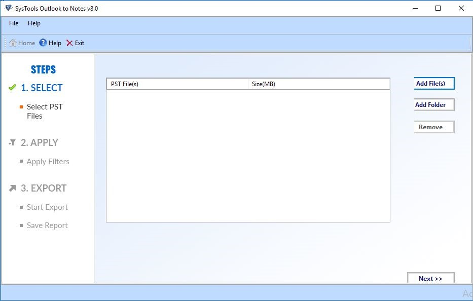 export pst to lotus notes