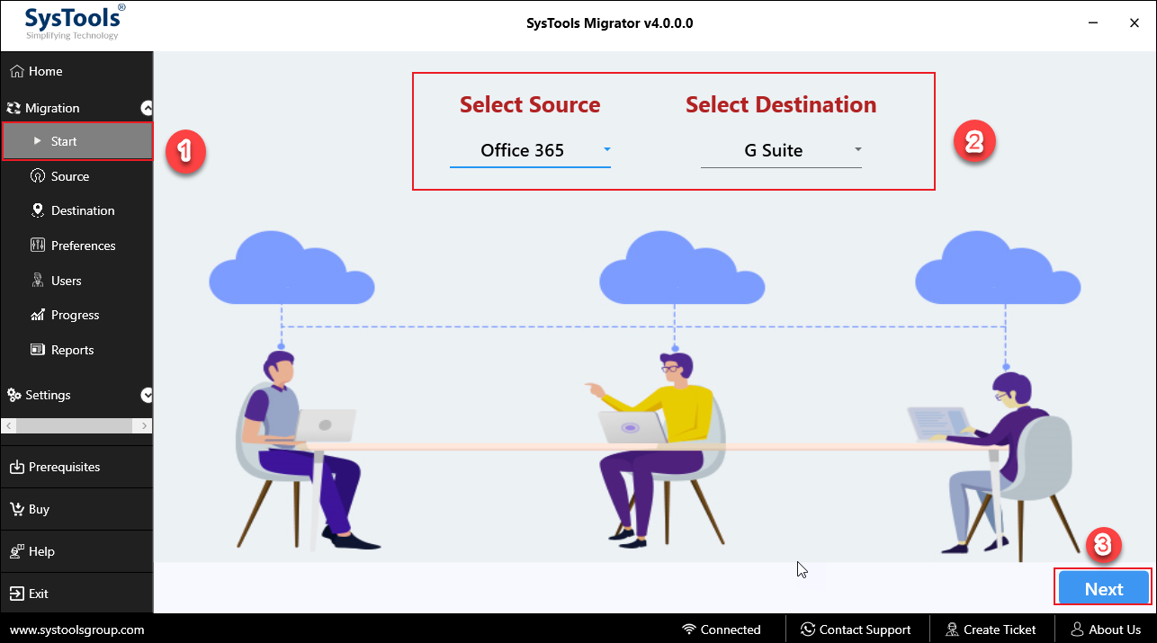 how to migrate email from Office 365 to G Suite