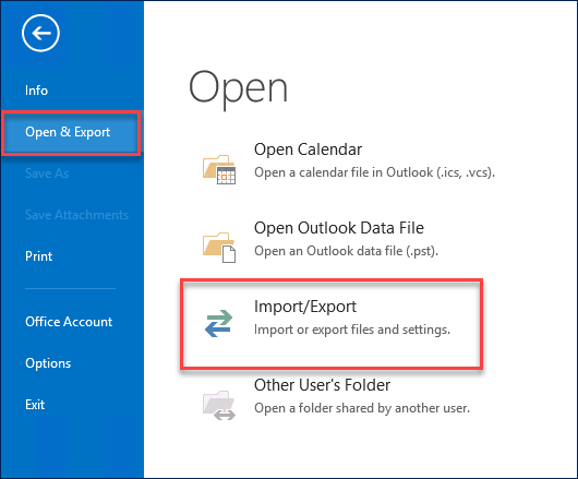 Import Lotus Notes to Outlook Feature