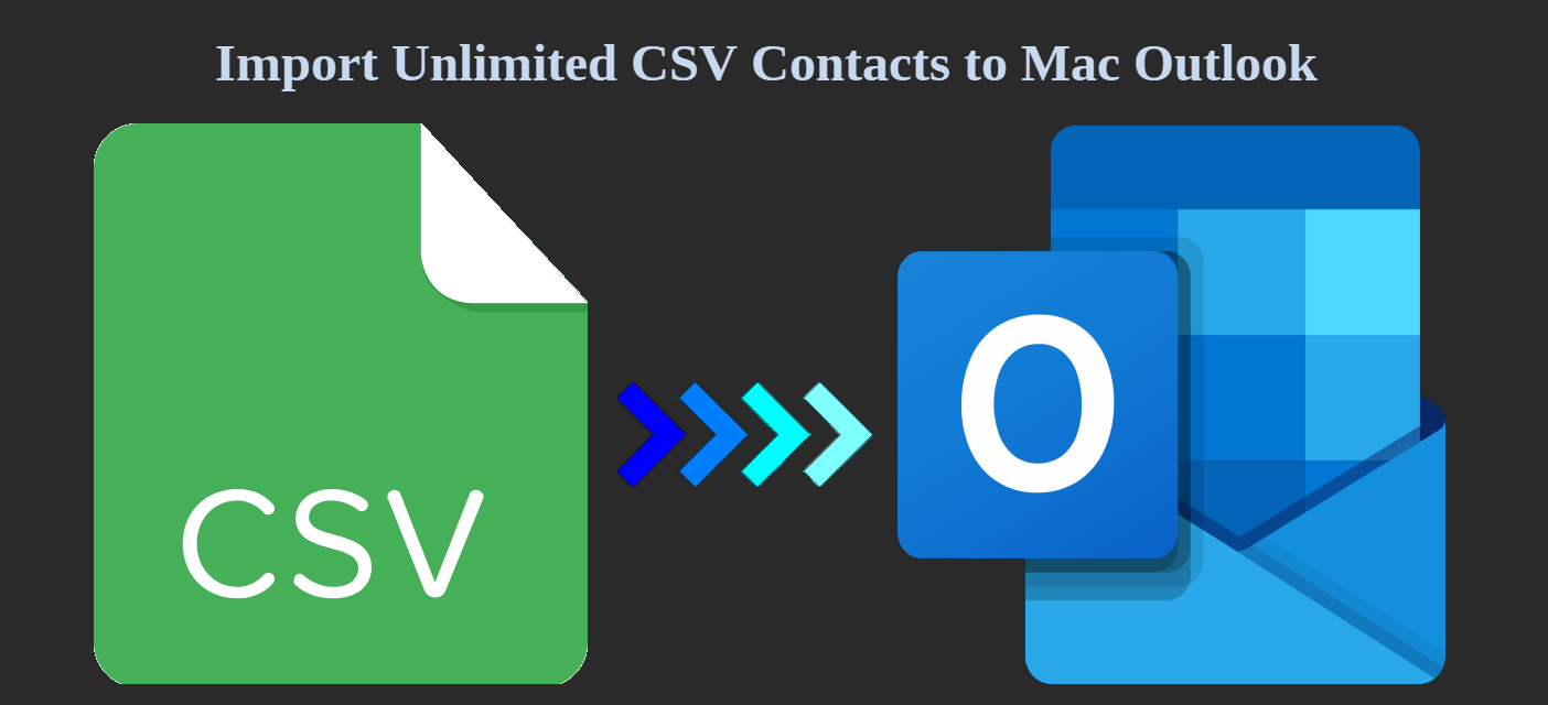 import csv contacts to outlook mac
