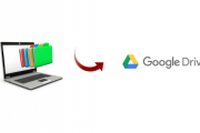 computer files to google drive