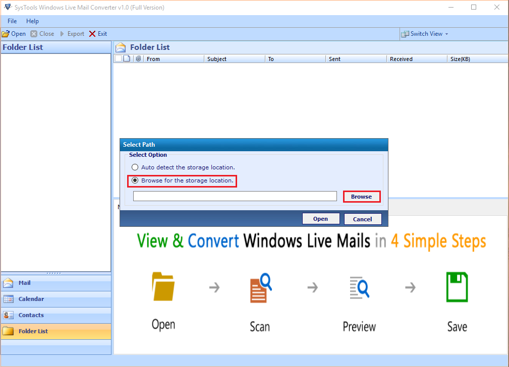 Windows 7 mail to Outlook
