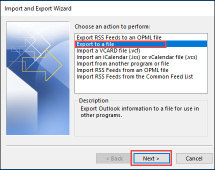 can you import contacts from outlook to mailchimp