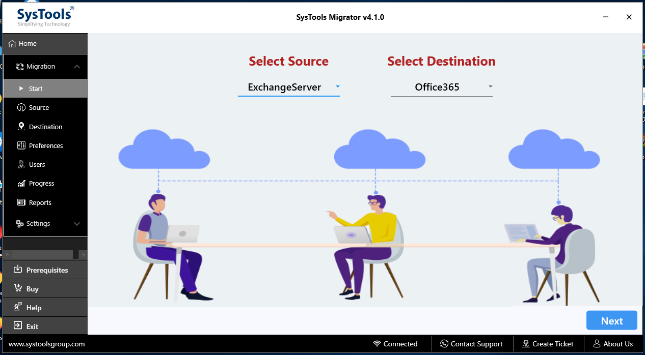 migrate On-Premise Exchange to Exchange Online
