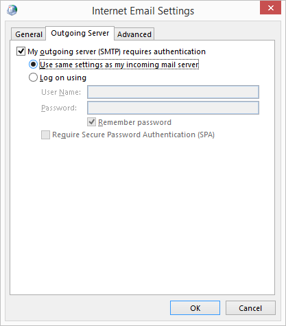 authenticate SMTP
