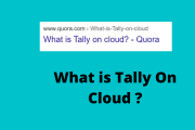what is tally on cloud