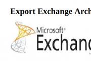 export exchange archive mailbox