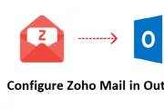 configure zoho mail in outlook