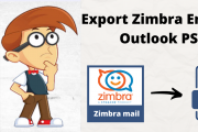 Export Zimbra Email to PST